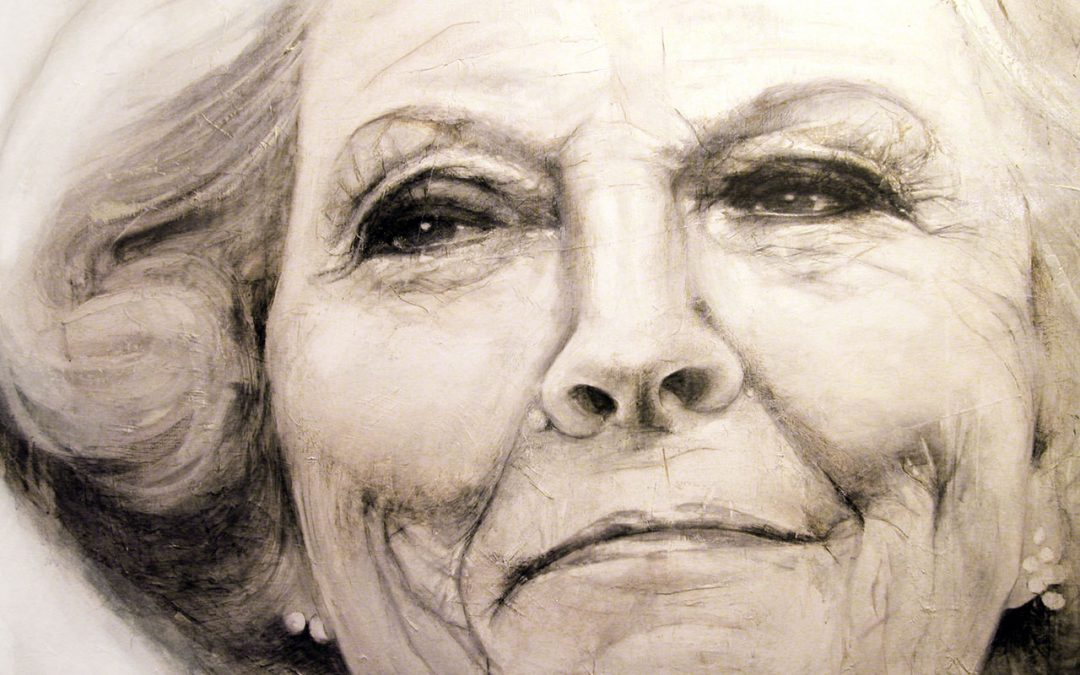 Former Queen Beatrix in Beatrix Hospital